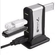 O19 7 Port USB 2.0 Hub Adapter Netzteil mit Standfuß für WIN, MAC OS PC Laptop