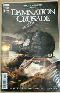Warhammer 40k: Damnation Crusade #5 Limited Edition 2007 Boom Studios