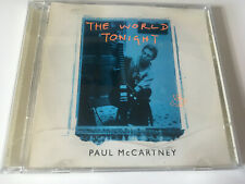 Paul McCartney 3trk CD w/ PROMO STICKER The World Tonight [BEATLES]
