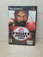 Fight Night 2004 (Sony PlayStation 2, 2004) Complete & Tested