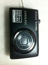 Camara Nikon Coolpix S3000 negra (leer)