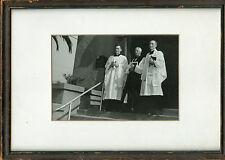 Older Framed Photo-Episcopal Clergy-HAUGHTON / HODGKIN Family -Bishop