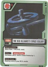 The Old Alliance's Space Colony BF-016 Mobile Suit Gundam MS M.S. War Card Game