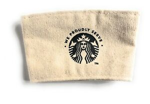 Starbucks Reusable Cup Sleeve ~ 100% Recyclable Starbucks Tag Made In Sri Lanka