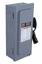 30 Amp 600VAC Single Throw Safety Switch 3P