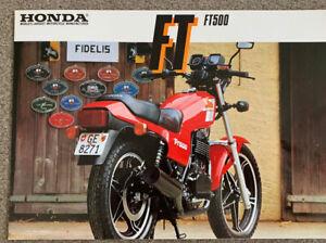 honda ft500 Original Brochure
