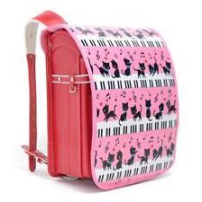 Randoseru Japanese School bag Cover cats piano pink New Japan