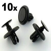10 x 7mm TOYOTA SCREW PLASTIC ENGINE RADIATOR CLIPS 53259-20030 1009136