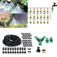 20M Microirrigación Kit de Riego Exterior Planta Jardín Invernadero Goteo
