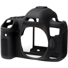 EasyCover Silicone Skin Cover Canon EOS 5D IV Mark 4 in Black + Screen Protector