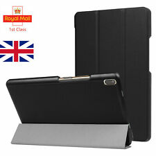 For Lenovo Tab 4 8 TB-8804F Tablet Slim Book Stand Smart Cover Holder Case