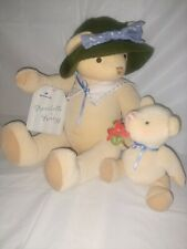Hallmark Annabelle & Breezy Mother & Baby Teddy Bear Plush Stuffed Toy Set