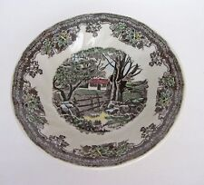 "SET OF 4 JOHNSON BROTHERS Friendly Village Fruit Saucers 5"" (13 cm) - New w. Tag"