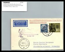 GP GOLDPATH: GERMANY COVER 1959 FIRST FLIGHT COVER _CV427_P07