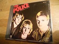 THE POLICE OUTLANDOS D´AMOUR 10 TRACKS CD ALBUM MADE IN FRANCE AAD POL 899 RARE