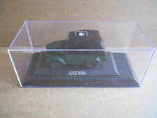 GAZ 69A Legendary Cars 1:43 Die Cast in Box in Plexiglass [MV10]