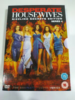 Desperate Housewives Temporada 4 Completa Sizzling - 5 x DVD Español Ingles