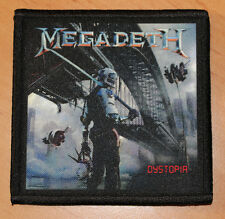 "MEGADETH ""DYSTOPIA"" silk screen PATCH"