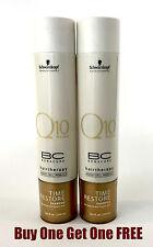 Schwarzkopf Bonacure Q10 Time Restore Shampoo 2 PACK (8.5 fl oz) BOGO