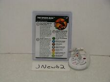 HeroClix Marvel Superior Foes of Spider-Man 066 The Spider-Man Chase Sketch!!!!
