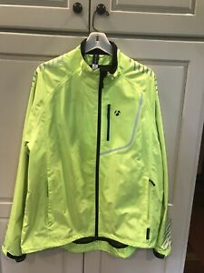 Mens Bontrager Cycling Rainshell Jacket Sz XL