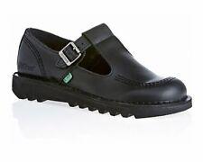 Chaussures plates et ballerines noires Kickers en cuir pour femme