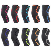 Compression Sleeve Knee Support Elastic Brace Wrap Pad Arthritis Pain Relief M/L