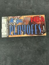NBA 1996 PLAYOFFS= ORLANDO MAGIC VS.CHICAGO BULLS GAME 3 TICKET STUB-MAY 25TH