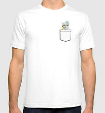 Rick and Morty T-shirt Men's Women's Art New Cotton Tee S-3XL