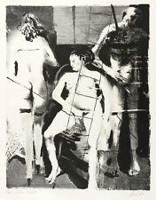 ARNO RINK - DER GELIEBTE DER MORGENRÖTE - EOS - Lithografie 1989