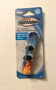 Auto Expressions Air Freshener- Snowboard - Outdoor Breeze Scent - New