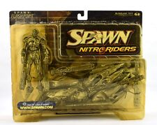McFarlane Toys Spawn NITRO Riders Eclipse 5000 (black) Action Figure With Bike