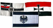 3x5 3'x5' Wholesale Set German Imperial Prussia War WWII Iron Cross 3 Flags Flag