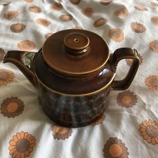 HORNSEA HEIRLOOM BROWN ENGLAND 1972 TEAPOT