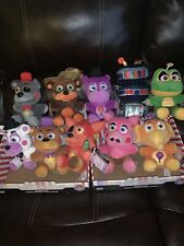 Five Nights At Freddy's Pizza Simulator Set Of 10 Plush Candy Cadet Pigpatch New