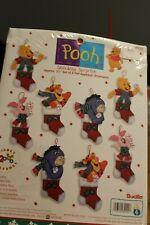 NEW Bucilla Pooh Stocking Surprise Ornaments