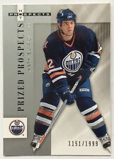 2005-06 MATHIEU ROY FLEER HOT PRIZED PROSPECTS ROOKIE #132 OILERS #1151/1999