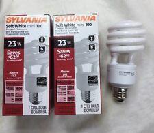 CF23EL/MINITWIST Sylvania 29397 23 Watt=100W Soft White Standard Base CFL  2-Pcs