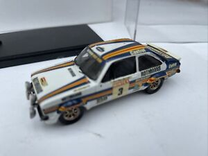 MOTOR PRO FORD ESCORT RS1800 Mk.2 model rally car Vatanen Richards ROTHMANS 1:43