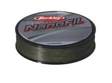 Berkley Nanofil 270m 274m Bobines Uni basse Visibilité Vert Filament fil 5 732 Kg/0.10mm