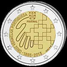 PORTUGAL 2 Euro Commemorative 2015 150 Ans de la Croix Rouge UNC