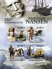 FRIDTJOF NASEN Arctic Polar Explorer / Greenland Expedition Stamp Sheet