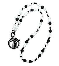 New Swatch PNW101N POP Pop Dancing Beads Black & White 45mm Watch