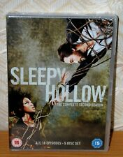 Sleepy Hollow The Complete Second Season 5 Disc Set Region 2 PAL Brand New