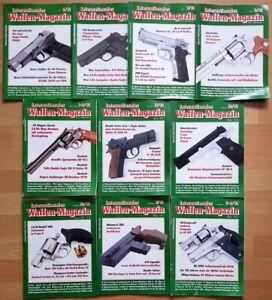 Waffenmagazin 1991 komplett Zeitschrift Pistolen Hefte internationales Jahrgang