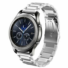 For Samsung Gear S3 Frontier/Classic Stainless Steel Metal Watch Band Strap 22mm