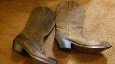 Durango RD4112 Brown Leather Cowboy Cowgirl Western Boots Womens Size 7.5 M