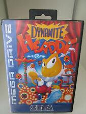 Dynamite Headdy (Sega Mega Drive) PAL OVP/Modul/Anleitung