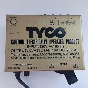 Tyco H.O. &  N Scale Train AC/DC Power Transformer VINTAGE Untested Model 899V