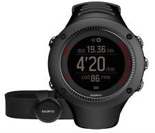 SUUNTO Ambit3 Run HR Heart Rate Monitor Running GPS Watch Black SS021257000 NEW